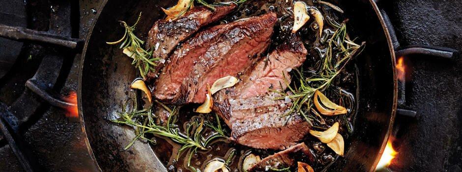 garlic-rosemary-steak