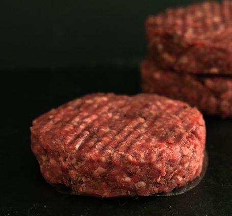котлета для бургера из мраморной говядины